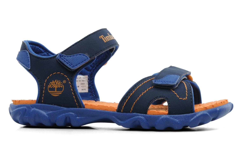 Sandalen Timberland Splashtown 2 Strap Sandal J blau ansicht von hinten