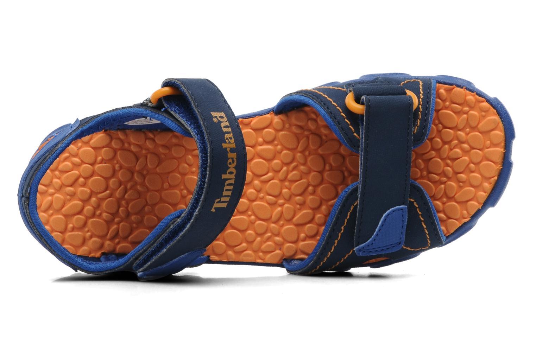Sandalen Timberland Splashtown 2 Strap Sandal J blau ansicht von links