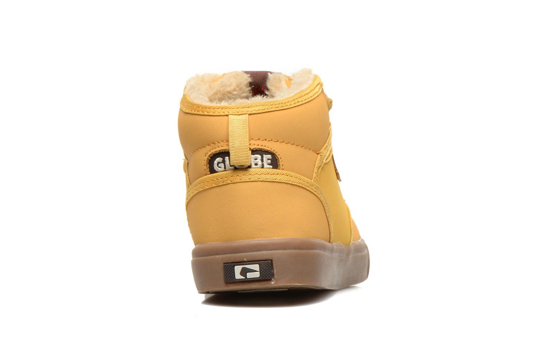 Sneakers Globe Motley Mid-Kids Beige rechts