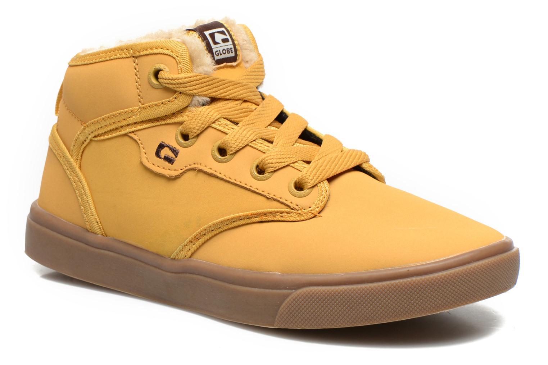 Sneakers Globe Motley Mid-Kids Beige detail