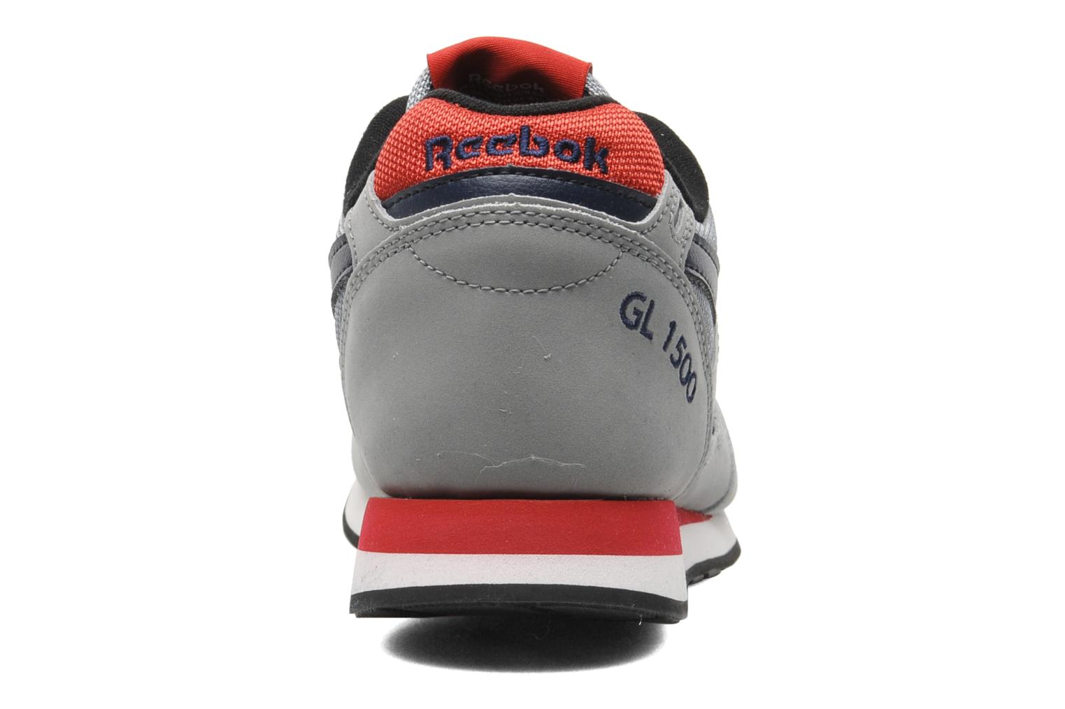 Gl 1500 Athletic Flat Grey-Collegiate Navy-Excellent Red-Wht