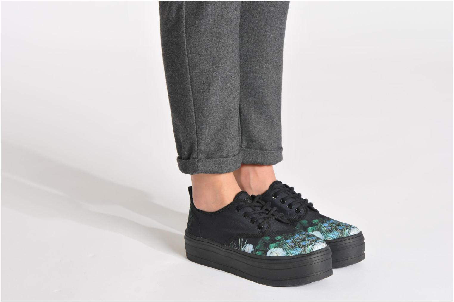 Trainers Eleven paris Tennis Flatform F Multicolor view from underneath / model view