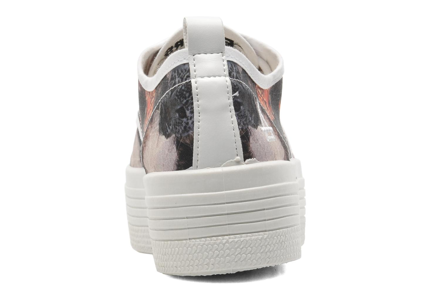 Baskets Eleven paris Tennis Flatform F Multicolore vue droite