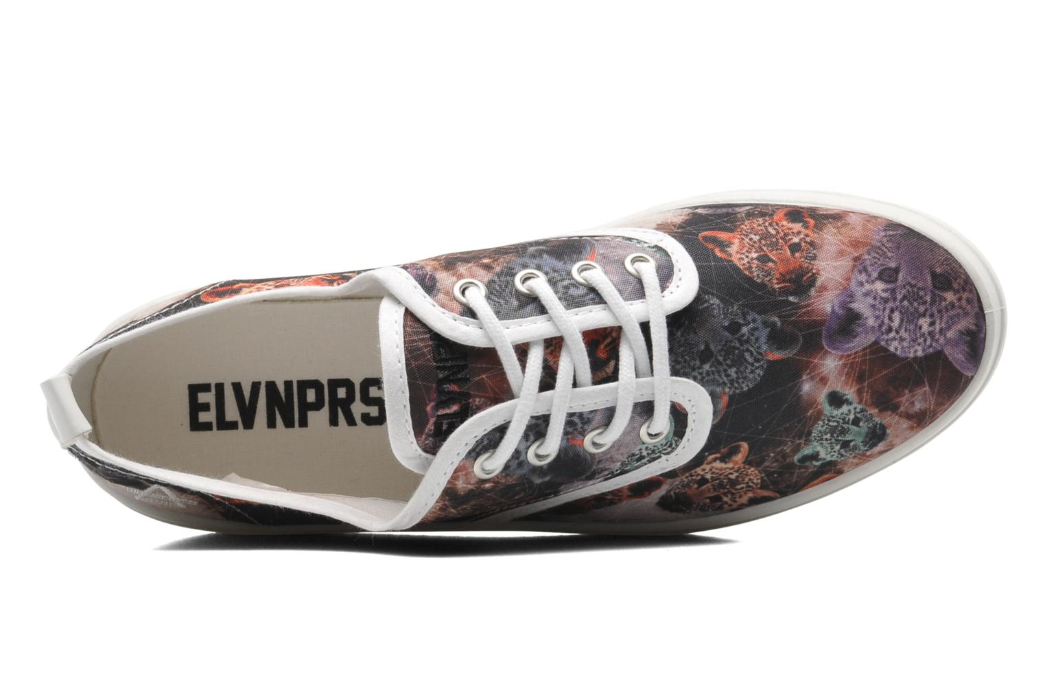 Baskets Eleven paris Tennis Flatform F Multicolore vue gauche