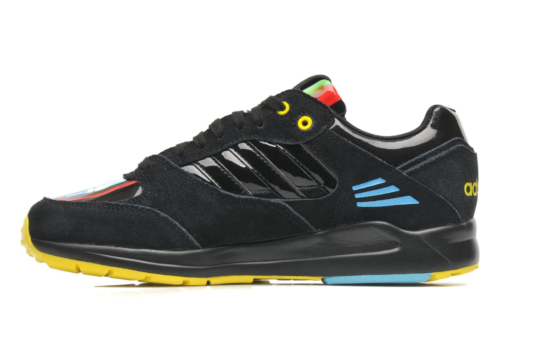 Sneaker Adidas Originals Tech Super W schwarz ansicht von vorne