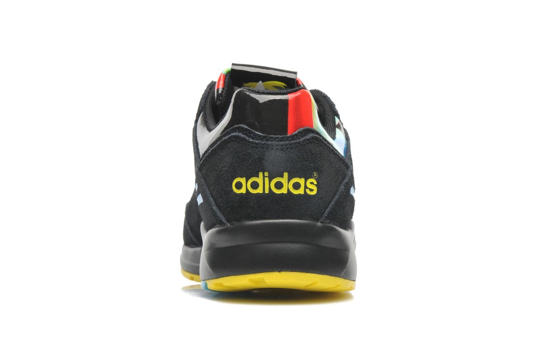 Baskets Adidas Originals Tech Super W Noir vue droite