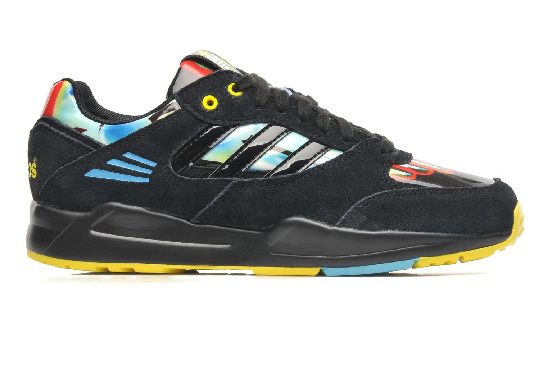 Sneaker Adidas Originals Tech Super W schwarz ansicht von hinten