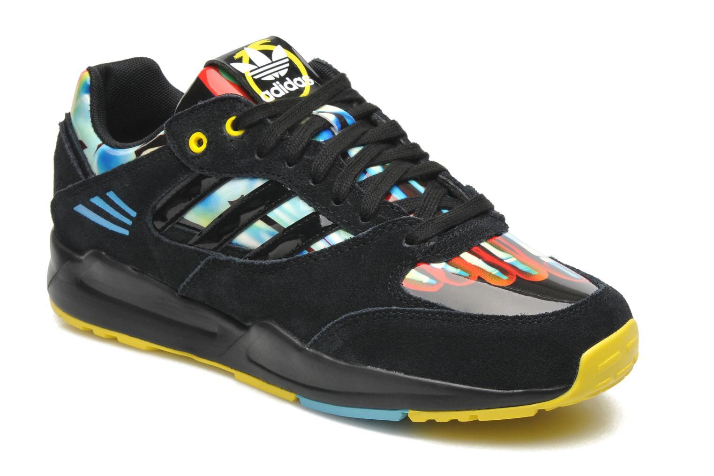 Baskets Adidas Originals Tech Super W Noir vue détail/paire