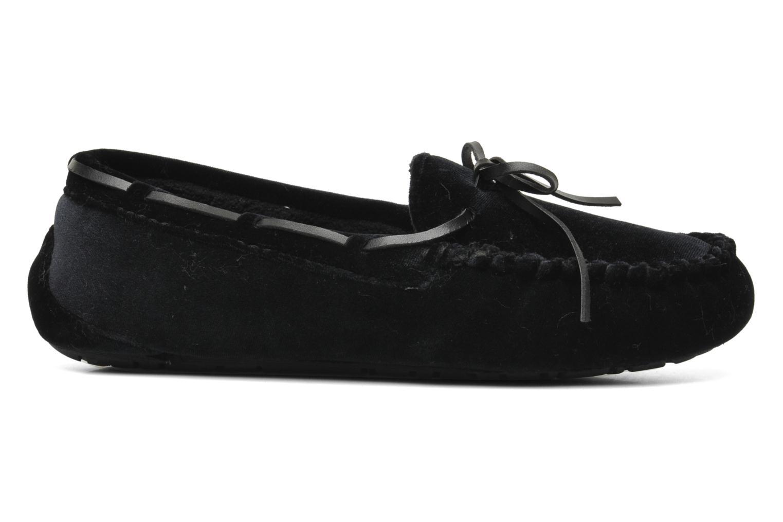 Slippers Ruby Brown Marlène Black back view