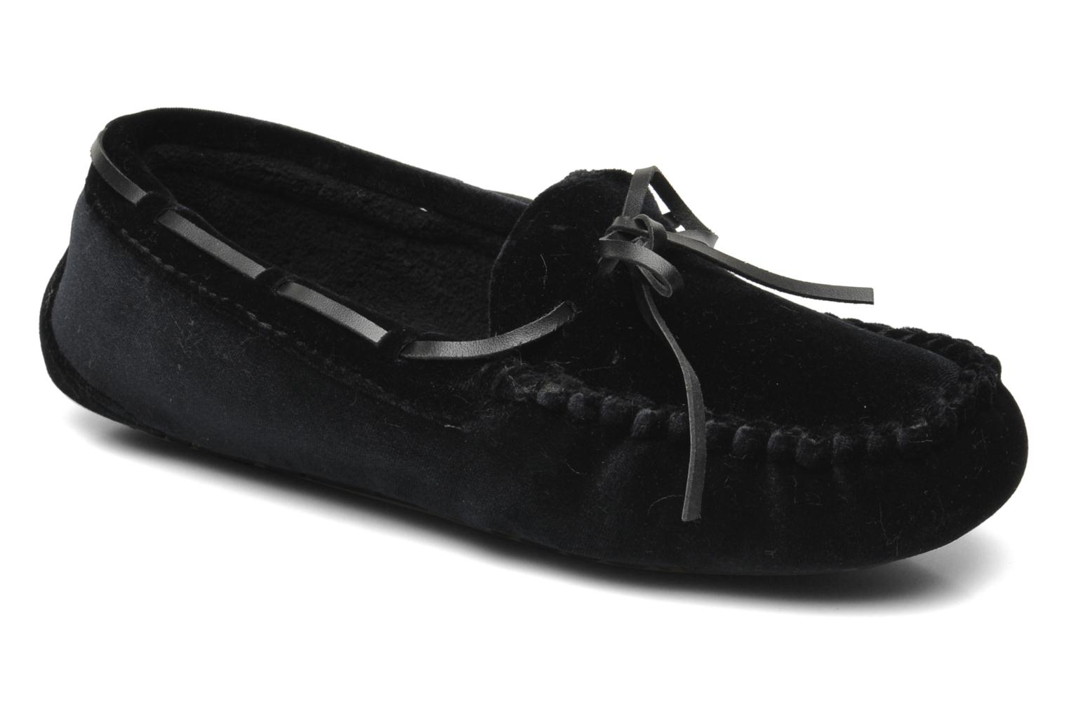 Slippers Ruby Brown Marlène Black detailed view/ Pair view