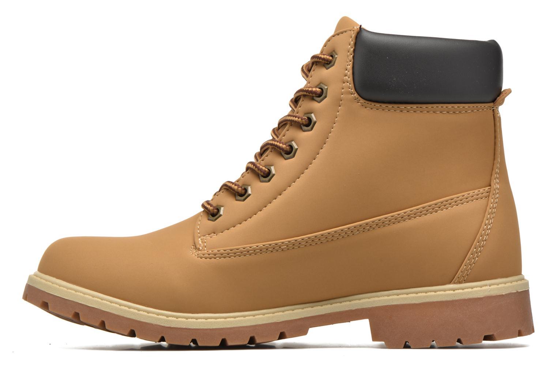 Bottines et boots FILA Maverick Mid Marron vue face