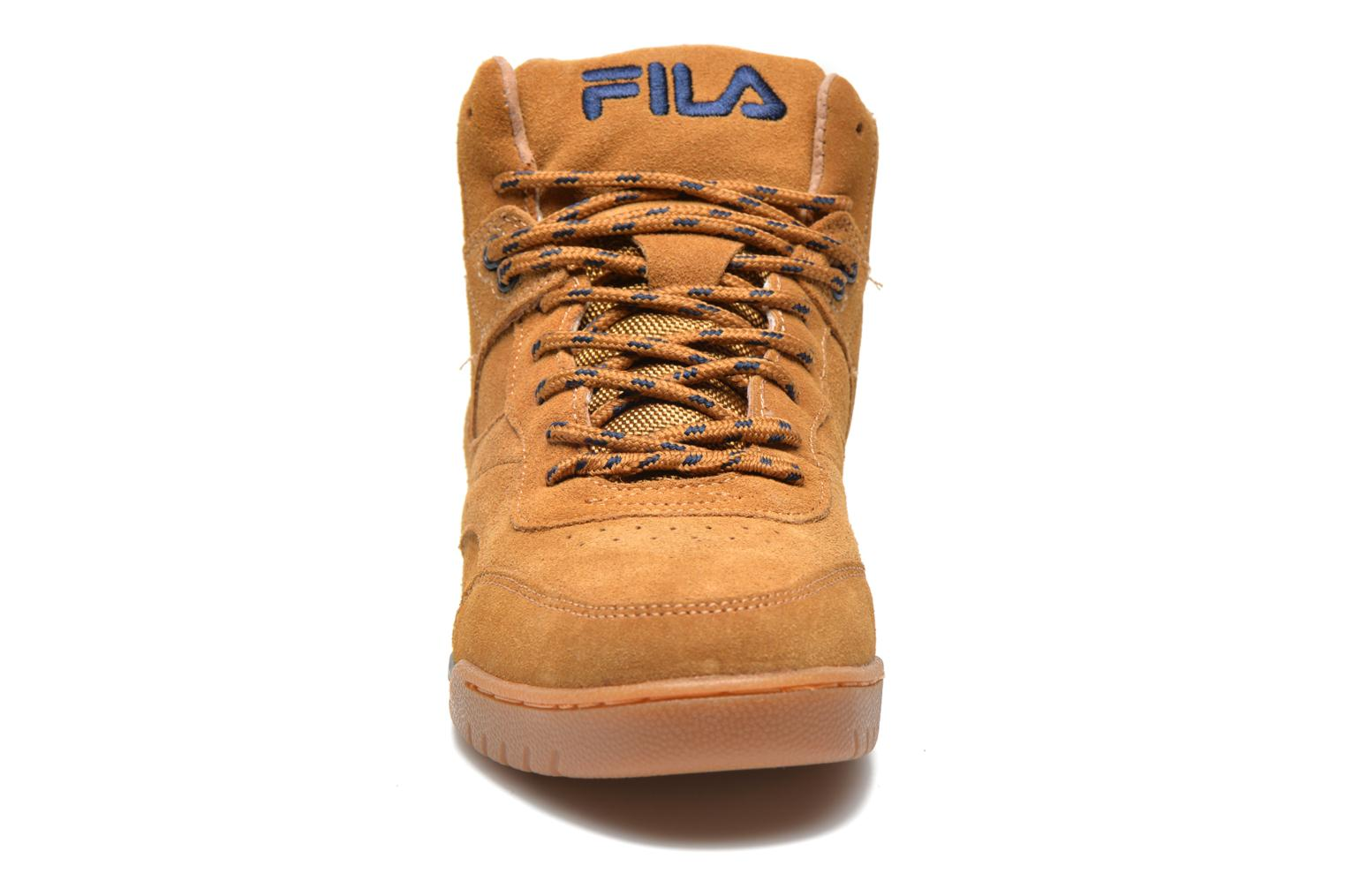 Trainers FILA Bounce Mid Adv W Brown model view