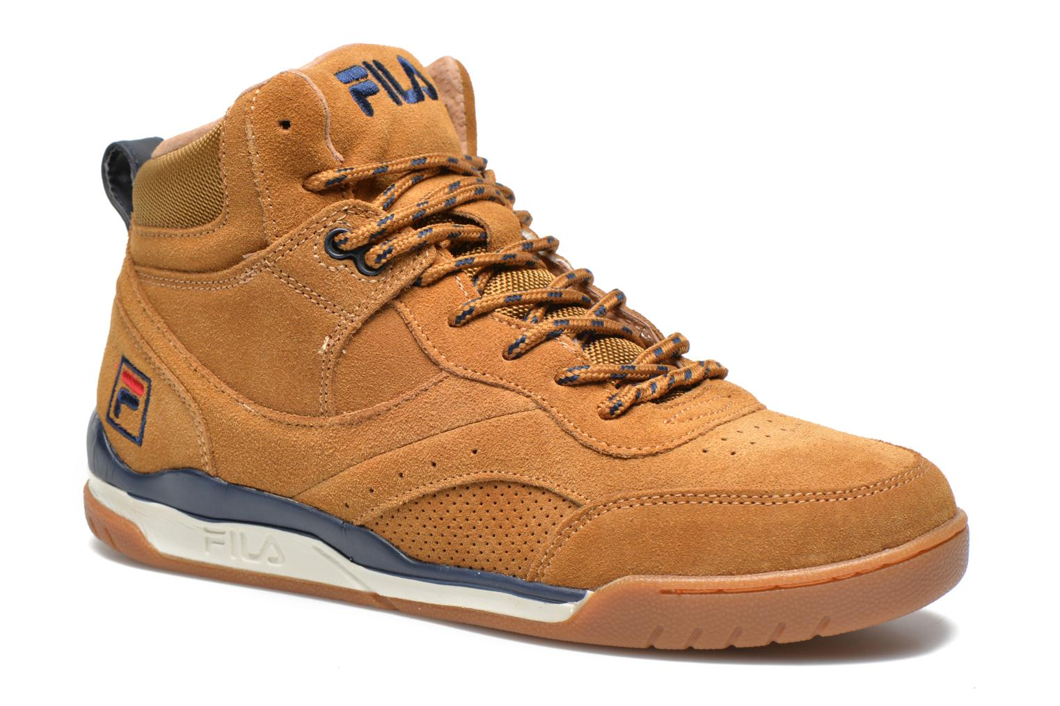Trainers FILA Bounce Mid Adv W Brown detailed view/ Pair view