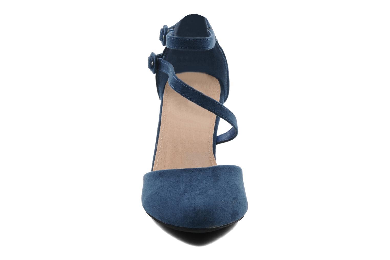 Escarpins I Love Shoes Kibo Bleu vue portées chaussures