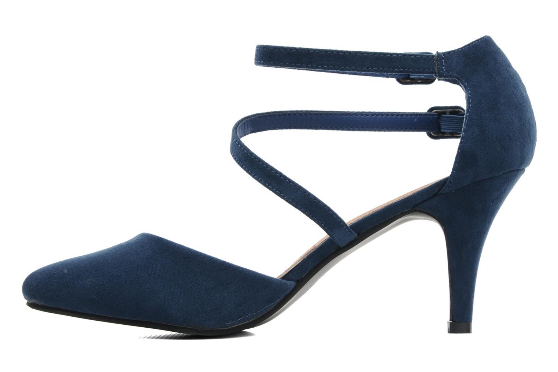 Escarpins I Love Shoes Kibo Bleu vue face