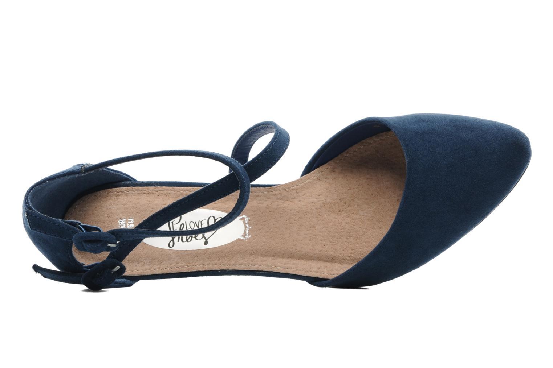Escarpins I Love Shoes Kibo Bleu vue gauche