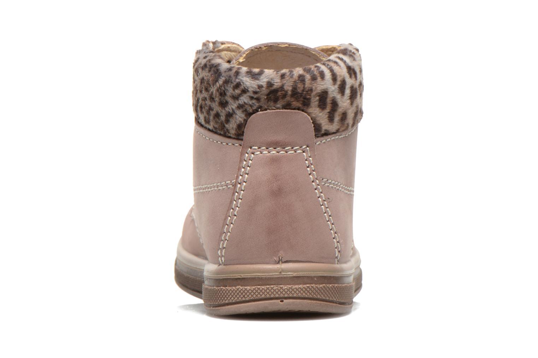 Bottines et boots Primigi ROOKY Rose vue droite