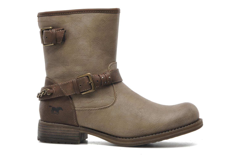 Boots en enkellaarsjes Mustang shoes Maki Beige achterkant