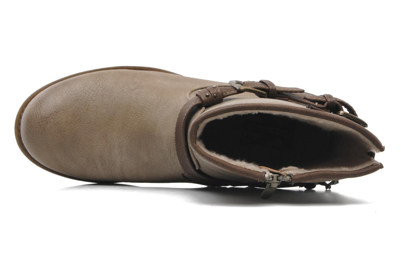 Bottines et boots Mustang shoes Maki Beige vue gauche