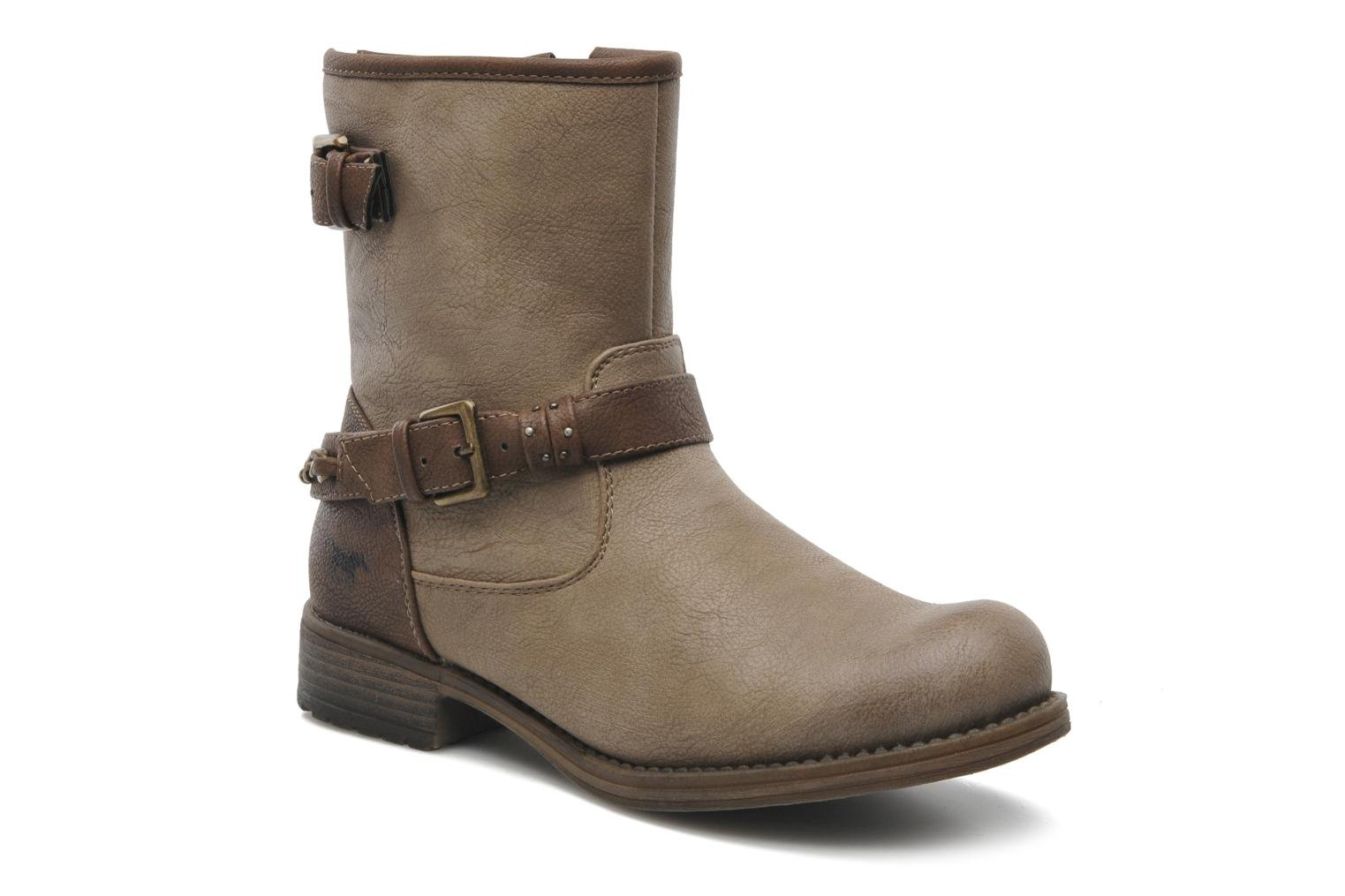 Ankle boots Mustang shoes Maki Beige detailed view/ Pair view