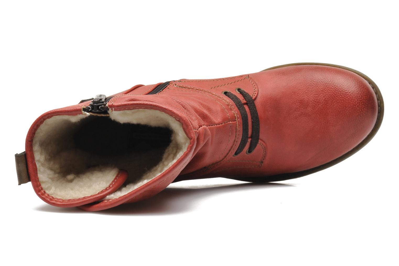 Boots en enkellaarsjes Mustang shoes Masya Rood links