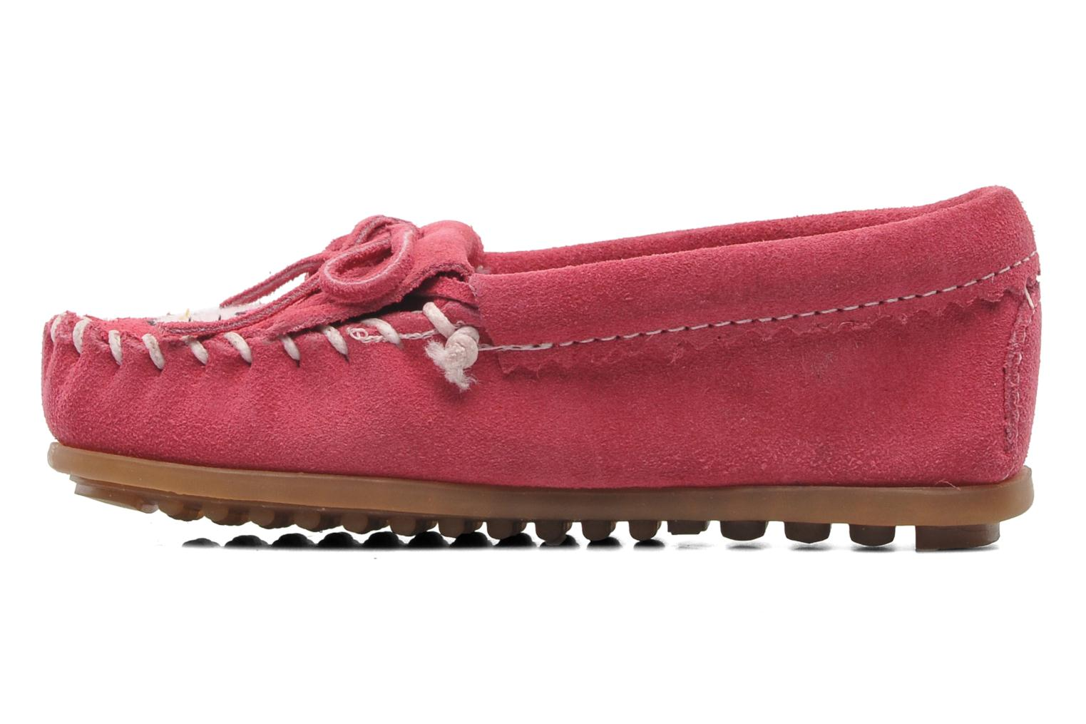 Loafers Minnetonka Hello Kitty Moc Pink front view