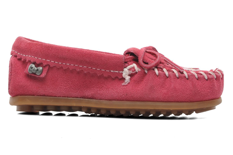 Loafers Minnetonka Hello Kitty Moc Pink back view