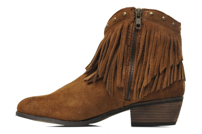 Boots en enkellaarsjes Minnetonka Bandera Boot Bruin voorkant