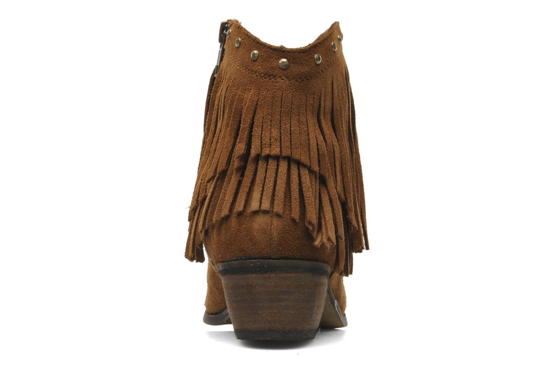 Boots en enkellaarsjes Minnetonka Bandera Boot Bruin rechts