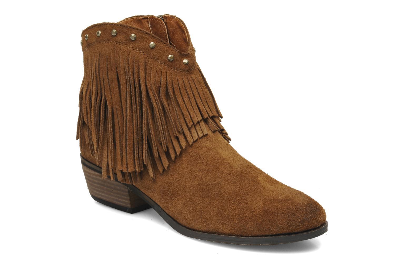 Bottines et boots Minnetonka Bandera Boot Marron vue détail/paire