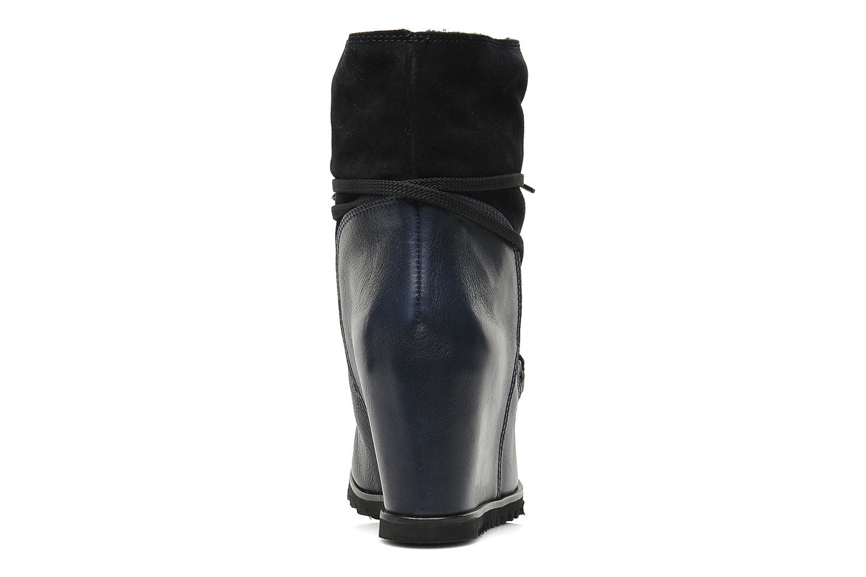 Bottines et boots Fabio Rusconi Bertie Bleu vue droite