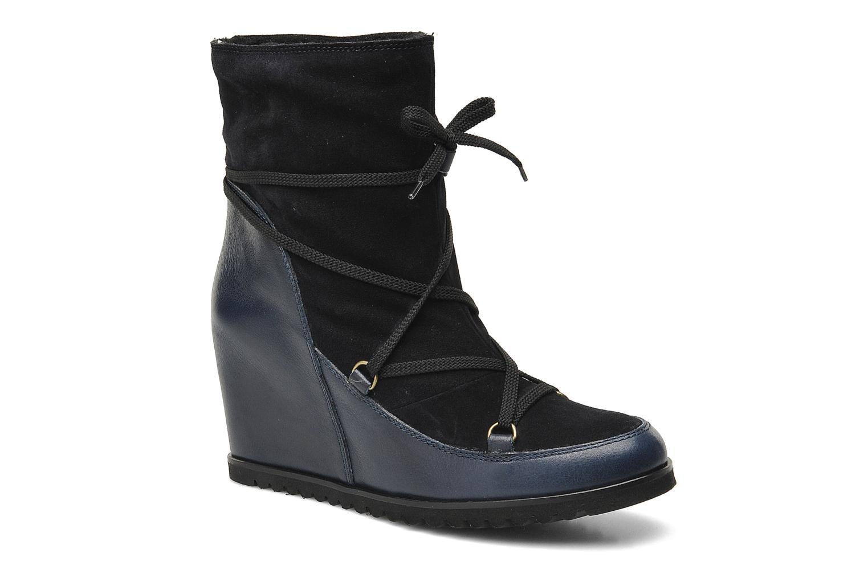 Bottines et boots Fabio Rusconi Bertie Bleu vue détail/paire