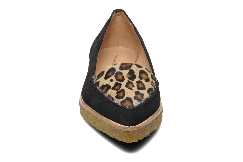 Mocassins Fabio Rusconi Lola Noir vue portées chaussures