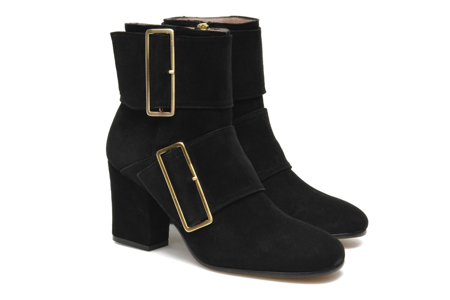 Ankle boots Avril Gau Calor Black 3/4 view