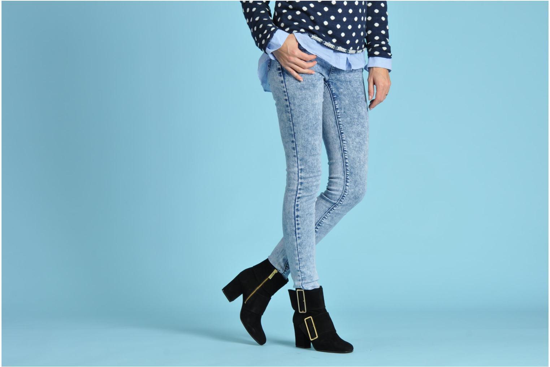 Bottines et boots Avril Gau Calor Noir vue bas / vue portée sac