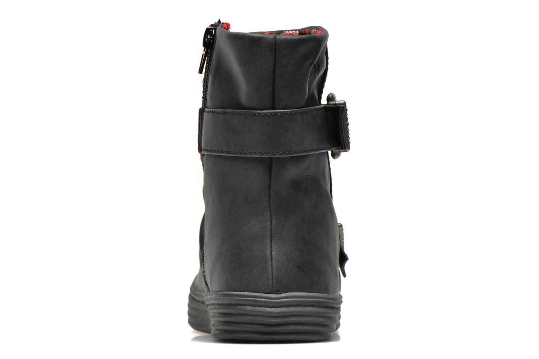 Bottines et boots Blowfish Octave Noir vue droite