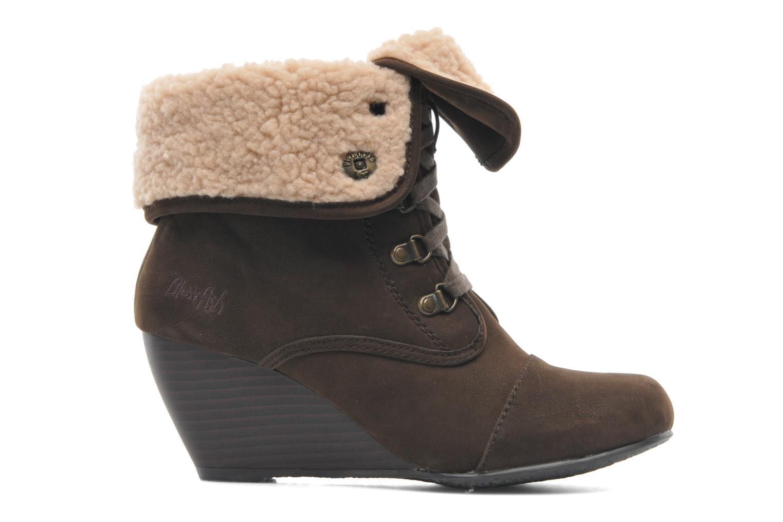 Bottines et boots Blowfish Buster shearling Marron vue derrière