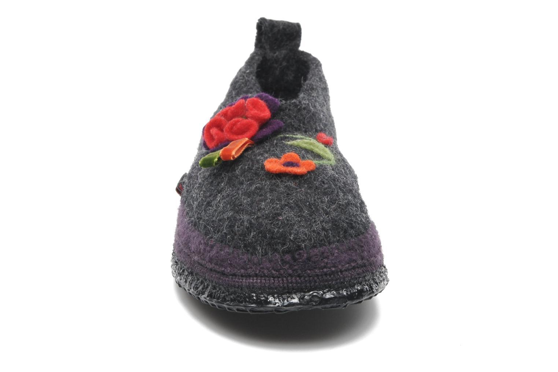Chaussons Giesswein Tangerhütte Gris vue portées chaussures