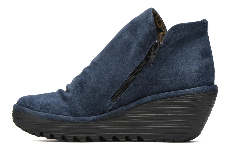 Stiefeletten & Boots Fly London Yip blau ansicht von vorne