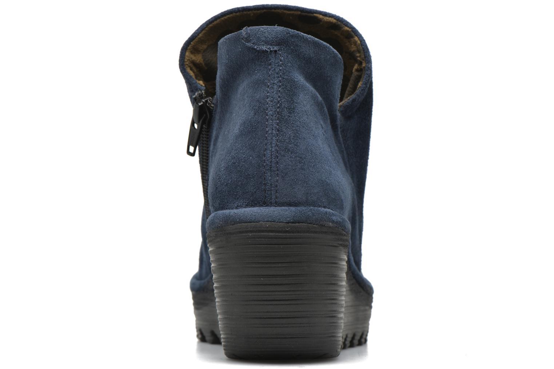 Stiefeletten & Boots Fly London Yip blau ansicht von rechts