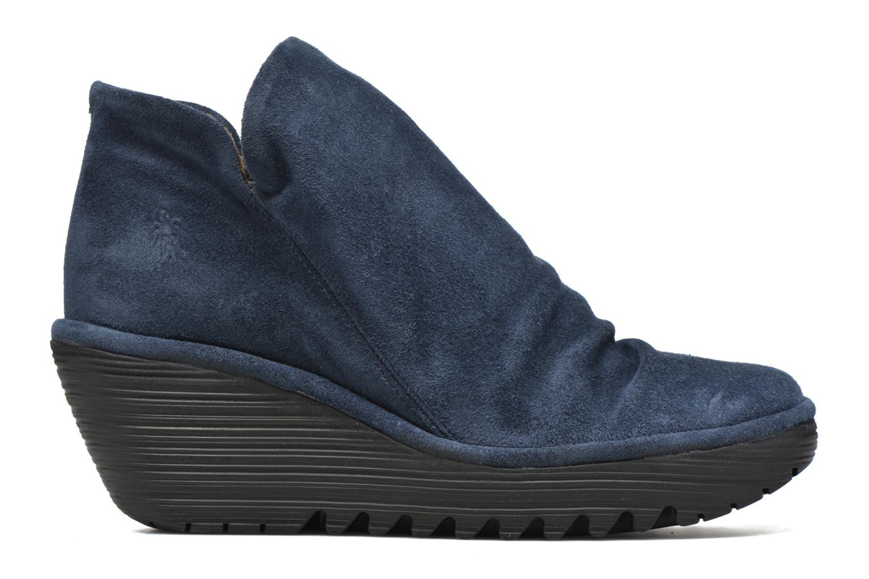 Stiefeletten & Boots Fly London Yip blau ansicht von hinten