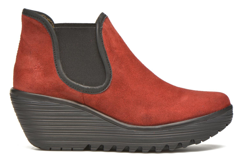 Bottines et boots Fly London Yat Rouge vue derrière