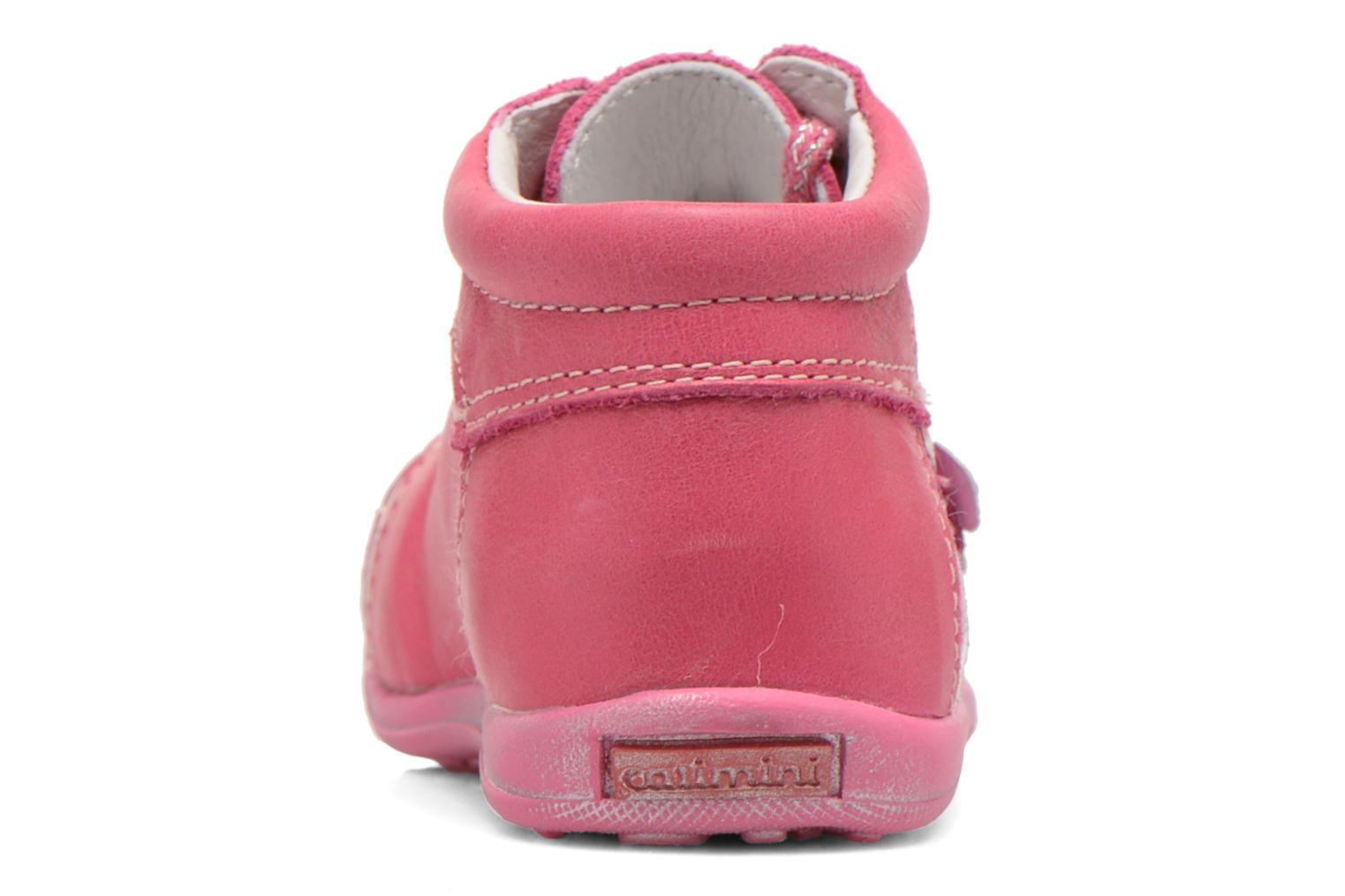 Ankle boots Catimini CYLENE Pink view from the right