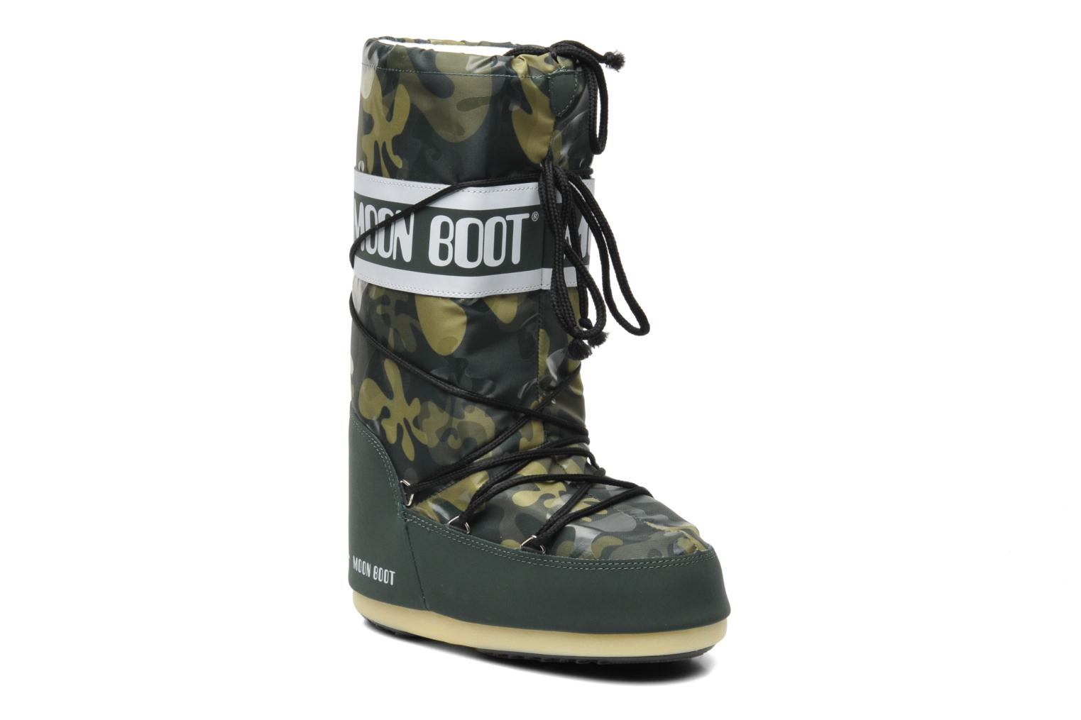 Laarzen Moon Boot Camu Groen detail