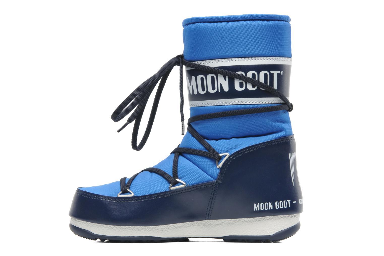 Chaussures de sport Moon Boot Sport Mid Bleu vue face