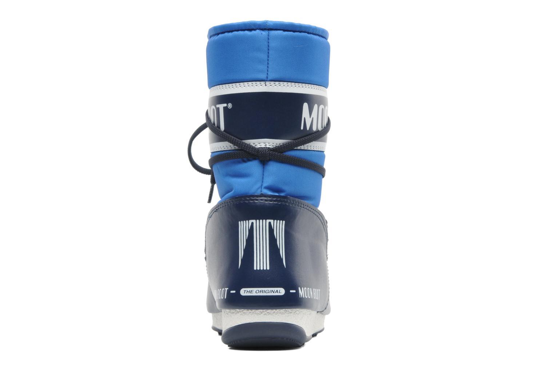 Chaussures de sport Moon Boot Sport Mid Bleu vue droite