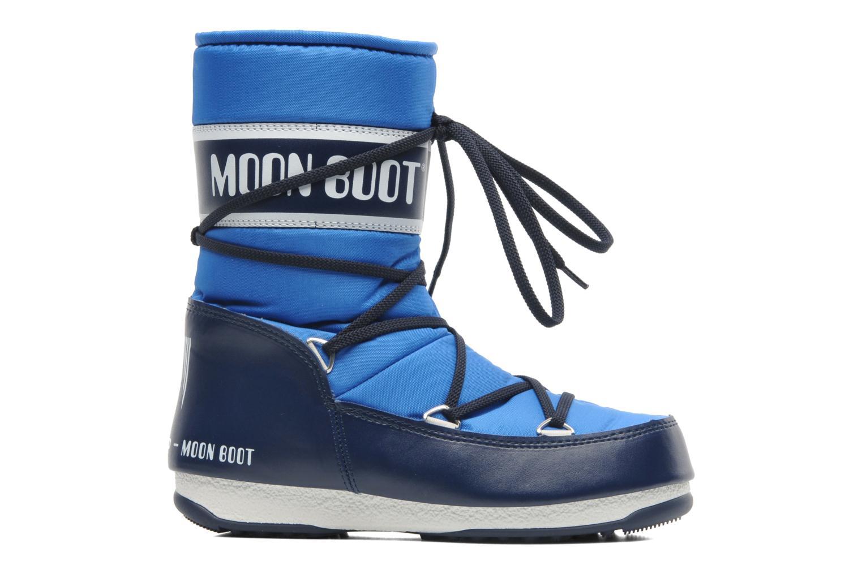 Sportschuhe Moon Boot Sport Mid blau ansicht von hinten
