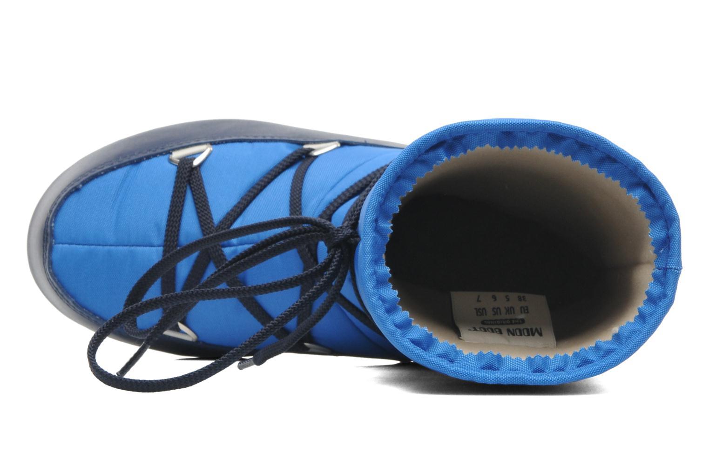 Sportschuhe Moon Boot Sport Mid blau ansicht von links