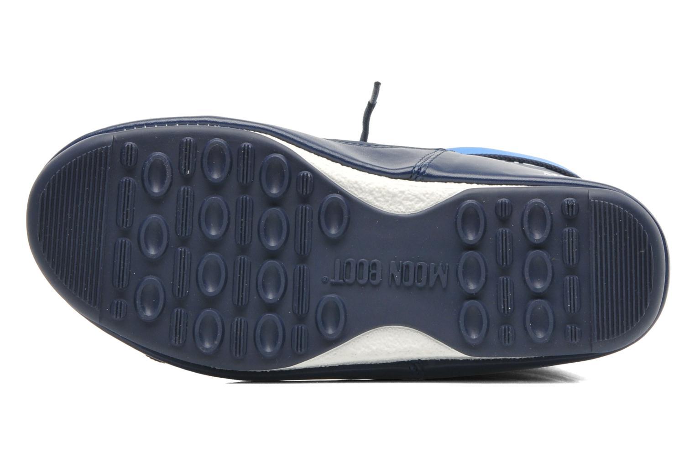 Sportschuhe Moon Boot Sport Mid blau ansicht von oben