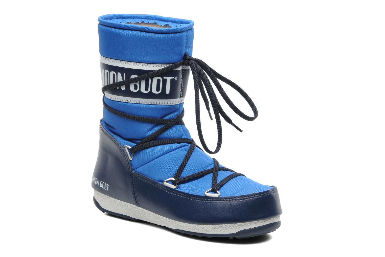 Chaussures de sport Moon Boot Sport Mid Bleu vue détail/paire